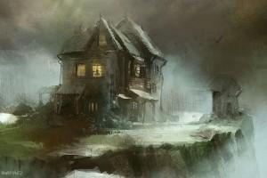 Les maisons hantées